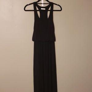 Lush Black Maxi Dress size small